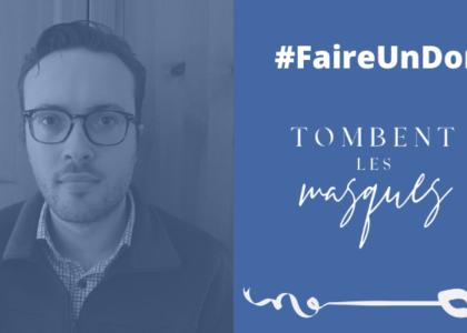 Portraits de nos bénévoles: Étienne Pleau Trottier témoigne de son implication. #TLM20